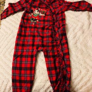 Disney One Pieces - Walt Disney world Christmas pajamas